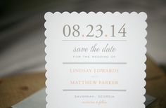 25 Wedding Save-the-Dates that Stand Out in the Crowd | OneWed