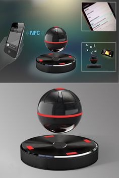 New product Maglev NFC bluetooth speaker| Buyerparty Inc.