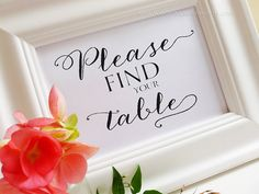 Hey, I found this really awesome Etsy listing at https://www.etsy.com/listing/186713877/find-your-table-sign-custom-wedding-sign