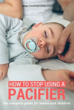 Pacifier weaning doesn't have to be as hard as you think. Whether the binky has control over your life or you want to be proactive with your baby these steps, tips and strategies will give you everything you need to get your baby off the pacifier.