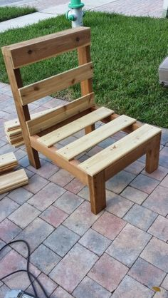 Rustic patio chairs