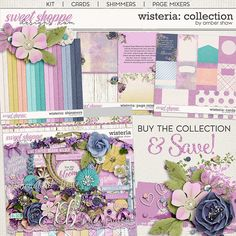 Wisteria: Collection by Amber Shaw