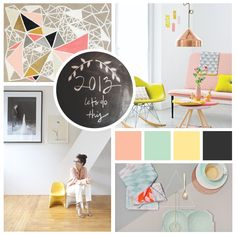 Personal Brand Mood Board | StinaDesigns.net #color #branding #inspiration