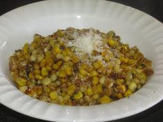 Easy corn dish that even the adults will beg for at dinner (or I do)