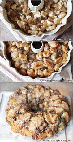 Apple pie monkey bread.