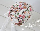 Newborn Baby Bonnet and Photo Prop  $25.00