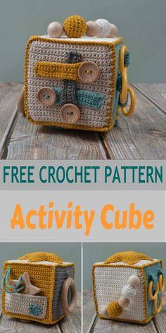 Crochet Baby Toys, Crochet Baby Clothes, Crochet Toys Patterns, Crochet Gifts, Cute Crochet, Crochet For Kids, Baby Knitting Patterns, Crochet Designs, Crochet Baby Stuff