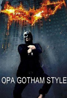 #batman #gangnamstyle #gotham #funny