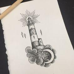 lighthouse old school vector - Поиск в Google                                                                                                                                                                                 More