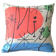 Famous Paintings Works Sixteen Decorative Pillow Cover – USD $ 28.10