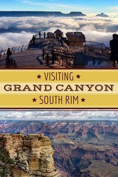 See the Grand Canyon's most iconic viewpoints at the South Rim! Learn all there is to know about visiting the South Rim with this Grand Canyon Visitor's Guide.