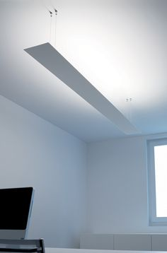 ceiling lamp: minimalistic design conception for diffused lighting | lighting . Beleuchtung . luminaires | design conception |