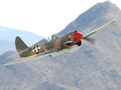Curtiss P-40 Warhawk Fighter aircraft | Palm Springs Air Museum