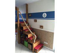 toom Kreativwerkstatt - Piratenbett Diy Headboards, Furniture, Home Decor, Work Shop Garage, Make Your Own, Bed, Creative, Homes, Decoration Home