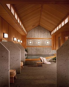 Indulge in a traditional Onsen mineral bath at the Spa. Four Seasons Hotel Tokyo at Chinzan-so Hotel Lobby Design, Spa Design, Four Seasons Hotel, Luxury Interior Design, Best Interior, Onsen Japan, Japanese Spa, Japanese Bathroom, Most Luxurious Hotels