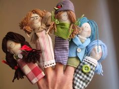 how amazing are these finger puppets