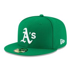 2d3e2bd2596 Men s Oakland Athletics New Era Green Alt Authentic Collection On-Field  59FIFTY Fitted Hat