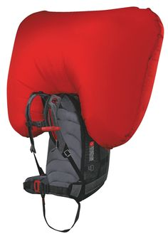 Mammut Ride R.A.S. - Backpack with Avalanche Airbag. Every now and then a truly innovative product stands out from the rest of the pack. Mammut's Backpacks with removable airbag system (R.A.S) are of such a breed: The technology comes from Snowpulse which has been taken over in 2011 by the Mammut Sports Group. Excellent backpacks combined with a proven and effective rescue system. Heck, yeah, it's expensive - but your life should be worth it, shouldn't it?