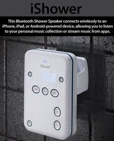 Showers will never be the same…