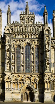 Wells Cathedral Detail: Centre Front | Flickr - Photo Sharing!