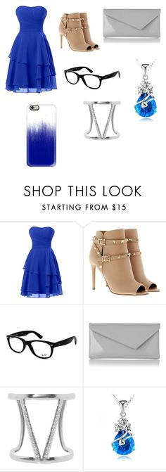 """""""Party central"""" by tokyocity7 on Polyvore featuring Valentino, Ray-Ban, L.K.Bennett, Humble Chic and Casetify"""