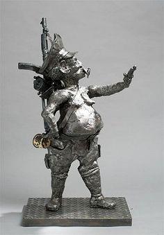 Willie Bester Sculptures, Lion Sculpture, Art History, Statue Of Liberty, South Africa, Appreciation, Gift, Statue Of Liberty Facts, Statue Of Libery