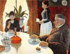 Paul Signac: 'Breakfast'