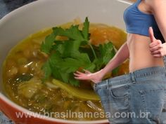 Sopa Queima Gordura - leia até o fim   //   //    Ingredientes:       1 berinjela;   1 nabo;   2 pimentões verdes;   2 tomates picados;   1 r