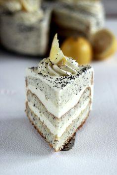 tort makowo-cytrynowy