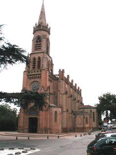 l'Union - The church - Haute-Garonne dept. Pyrenees, San Francisco Ferry, Euro, French, Building, Places, Travel, France Area, Viajes