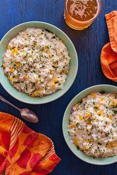 Save the recipe! Pumpkin Risotto, Pumpkin Squash, Butternut Squash, Arborio Rice, Cheese Pumpkin, Risotto Recipes, Best Dishes, Recipe Of The Day, Ham