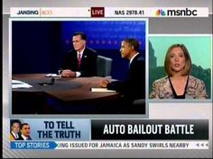 MSNBC Fact Check: Romney Was Right And Obama Was Wrong On Auto Bailout >> President Obama is actively engaged in deception. We deserve a solid leader, not a liar. Remember in November.