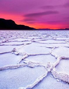 Badwater Basin,Death Valley National Park,California, USA: