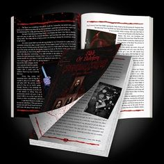 """CANNIBAL CORPSE """"Bible of Butchery: The Official Biography"""" Softcover Book"""