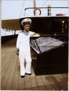 Tsarevich Alexei Nikolaevich Romanov of Russia (1904-1918