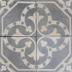 Cement Tile eclectic floor tiles by Exquisite Surfaces