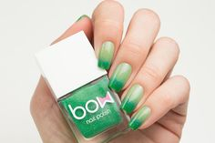 Bow Polish - Thermo Top Coat Green | Rainbow Connection