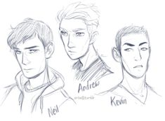 I started recently reading The Foxhole Court (first book of the All For The Game series by Nora Sakavic) and as per usual, I decided to draw few characters that have caught most of my attention so far!