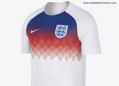 03b3cb4323e705 The Nike 2018 England Dri-FIT Squad Football Top features sweat-wicking  fabric and raglan sleeves to help keep you dry, comfortable and moving  freely on the ...