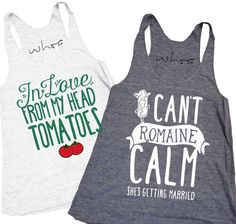 1aed2ea1a05abd In Love From My Head Tomatoes   I Can t Romaine Calm Tank – Design. Design  Like Whoa
