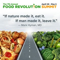 Don't miss Dr. Hyman during the 2018 #FoodRevolution Summit! He'll show you how the right food choices can reduce violence and poverty while supporting healthy lives and healthy communities. #markhyman #functionalmedicine