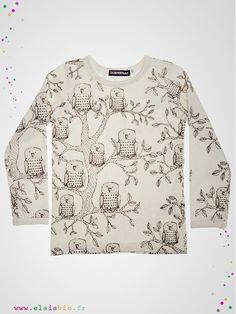 Tshirt pour enfant de la collection Hiboux