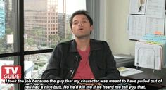 [GIF] Misha interview<< he's so right too.