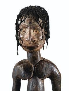 Crochet anthropomorphe, Aire Iatmul, Région du moyen Sepik, Papouasie Nouvelle-Guinée