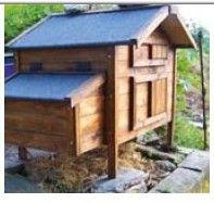 construction d un poulailler plan de construction. Black Bedroom Furniture Sets. Home Design Ideas