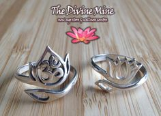 New lotus rings now in stock