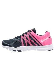 YOURFLEX TRAINETTE 8.0 - Scarpe da fitness - navy/pink/white