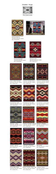 Americandakota: beautiful southwestern rugs