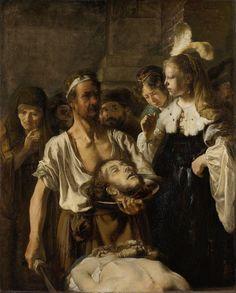 Carel Fabritius - Beheading of John the Baptist, 1640/45. Rijksmuseum, Amsterdam. Carel Fabritius (1622-1654).