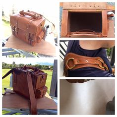 Leather handmade from LittleLeatherLab. Ready made natural leather case. Carry system allows to use the bag as a handbag a backpack a shoulder bag.  Price 460€ +postage fee For more details visit our shop LittleLeatherLab on www.etsy.com